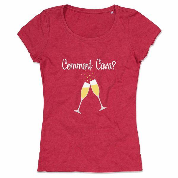 Comment Cava tof wijn shirt